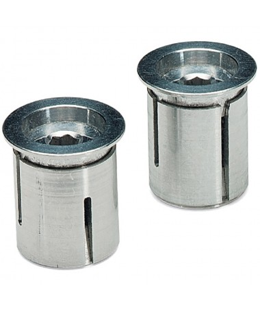 CNC ALLOY BAR END PLUG PAIR