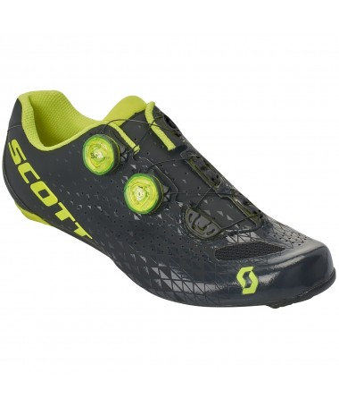SCO SHOE ROAD RC NEON YEL/BLA 38.0