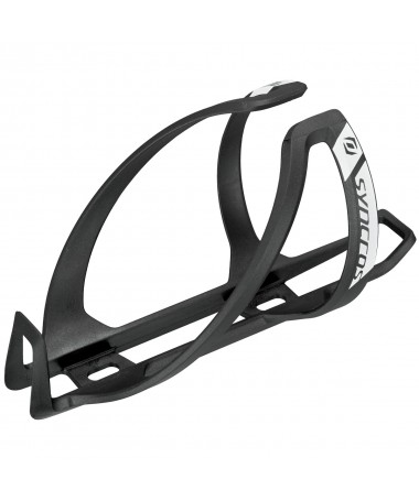 SYN BOTTLE CAGE COUPE CAGE 2.0 BLACK/WHI