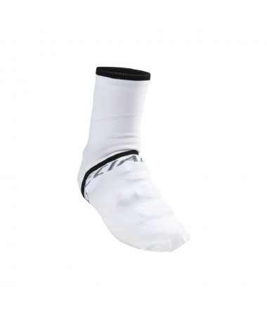 SHOE COVER/SOCKS WHT/BLK M