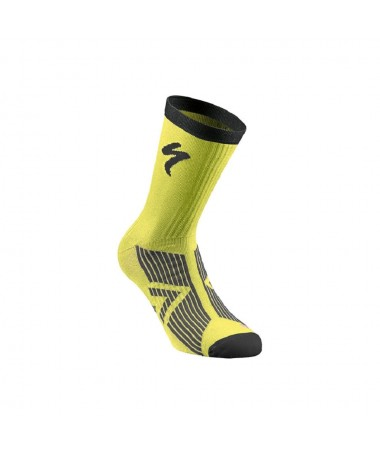 SL ELITE SUMMER SOCK NEON YEL/BLK L