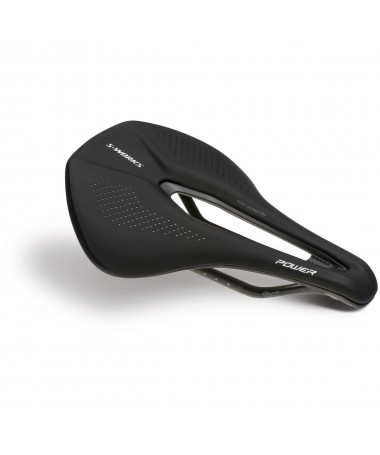 SW POWER CARBON SADDLE BLK 143