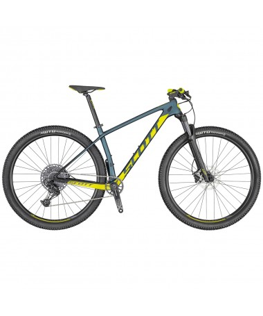 SCOTT VELO SCALE 940 COBALT/YELLOW M