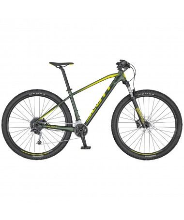 SCOTT VELO ASPECT 730 DK.GREEN/YELLOW (K