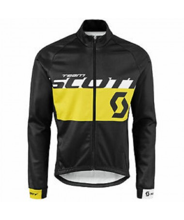 VESTE SCOTT RC TEAM AS 10 NOIR/JAUNE T.L
