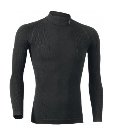 MAILLOT MANCHES LONGUES SPECIALIZED LS ROLL NOIR T