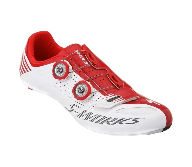CHAUSSURES SPECIALIZED S-WORKS 2015 T39 BLANCHE/RO