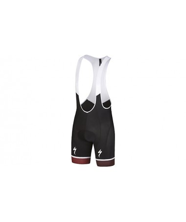 RBX COMP LOGO BIB SHORT BLK/RED/BLK S
