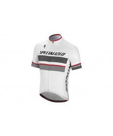MAILLOT RBX COMP BLANC ROUGE
