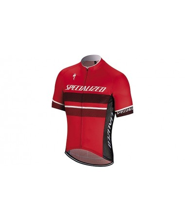 RBX COMP LOGO JERSEY SS RED/BLK L