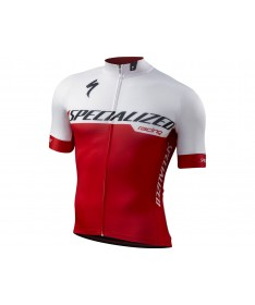 MAILLOT SL EXPERT BLANC ROUGE