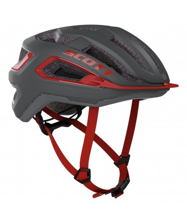 SCOTT CASQUE ARX (CE) DARK GREY/RE M