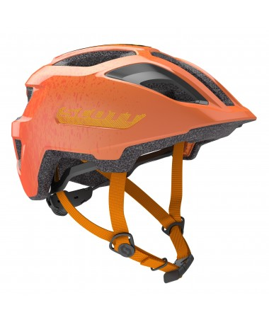 SCOTT CASQUE SPUNTO JUNIOR (CE) FIRE ORA