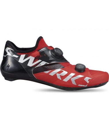 SW ARES RD SHOE RED 44