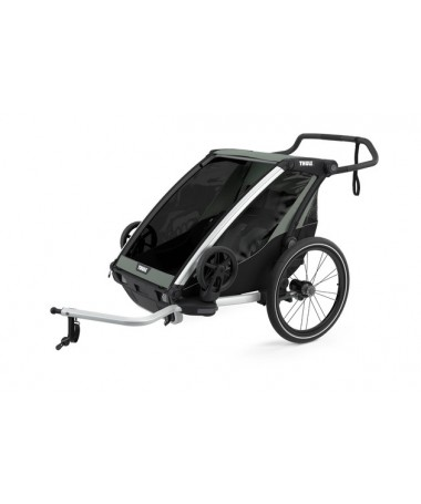 THULE REMORQUE CHARIOT LITE2 AGAVE 2PLACES