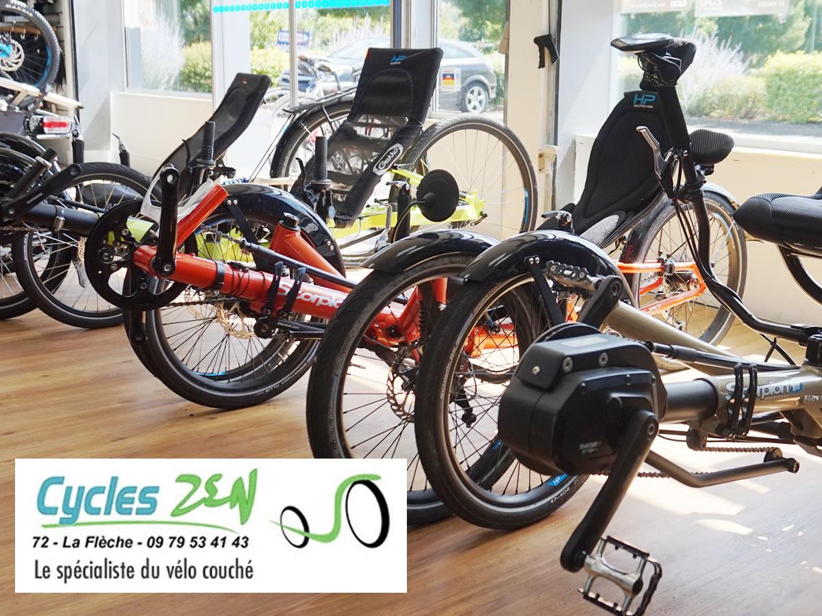 Cycles ZEN, spécilaiste du vélo couché