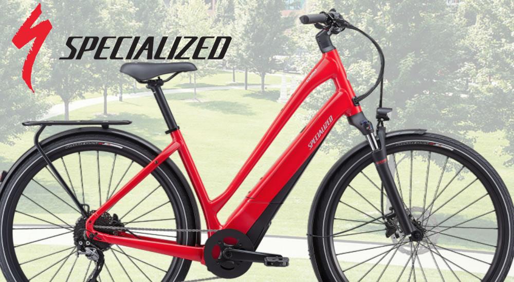 Vélos de ville électriques SPECIALIZED
